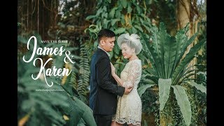 James and Karen | Save the date by Nice Print Photography