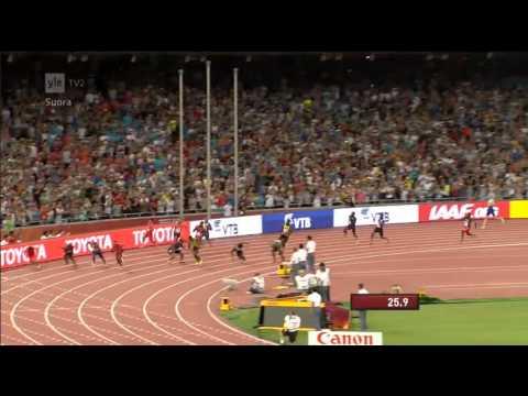 Jamaica wins Gold at Beijing Men's Relay 4x100 metres | IAAF World Championships Beijing 2015