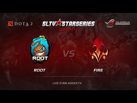ROOT vs Fire, SLTV America Play Off, GrandFinal, Game 1