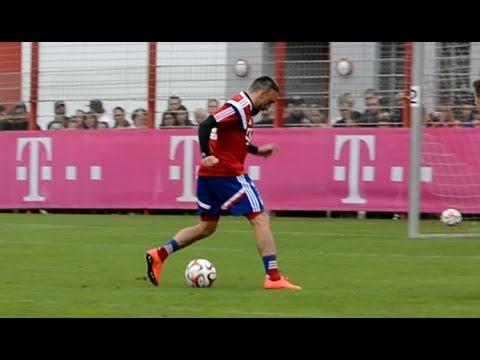 Franck Ribery - Dribbling Skills Tricks FC Bayern Munich