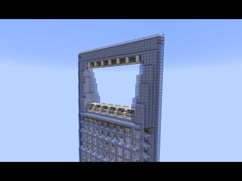 Minecraft 1.7.4 Shanghai Financial Center