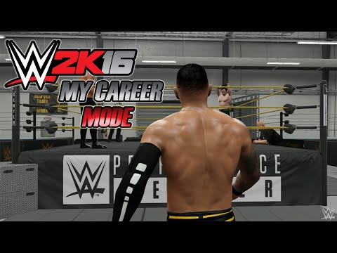 WWE 2K16 - My Career: Ricochet - #01 - O FUTURO