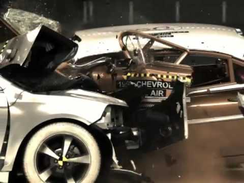 IIHS 50th Anniversary Crash Test