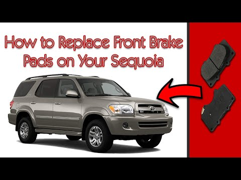2005 Toyota Sequoia: How to Replace the Front Brake Pads
