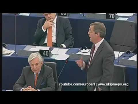 Farage: 'Good Europeans' would break up the eurozone