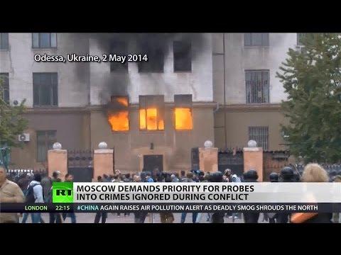 Moscow demands investigations into Ukraine conflict crimes