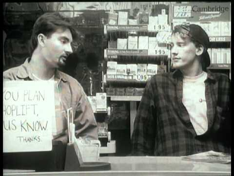 Clerks. (1994) Trailer (with Kevin Smith introduction)