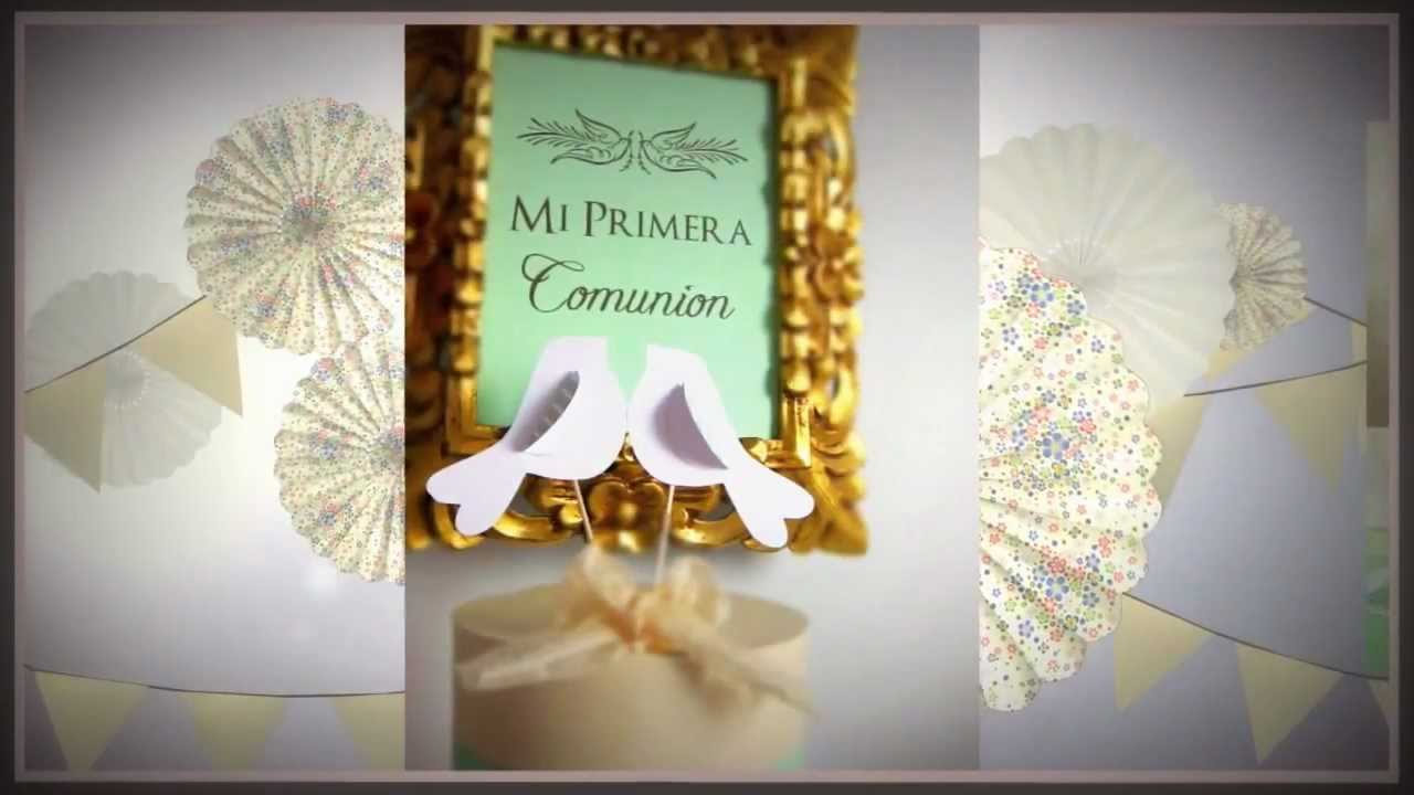 Vintage Primera Comuni?n  YouTube