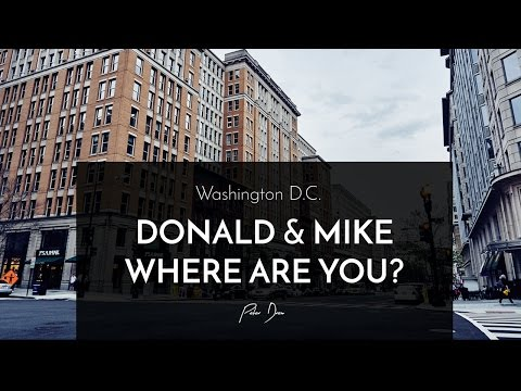 Donald & Mike Where Are You?
