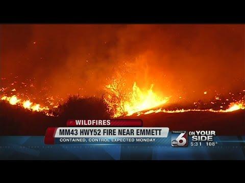 Crews gain progress on wild fires, extreme heat prompts health warnings