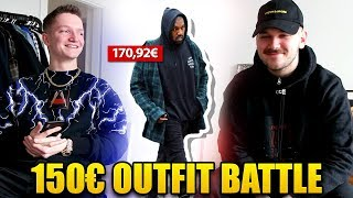 UNTER 150€ OUTFIT BATTLE (mit Victor)