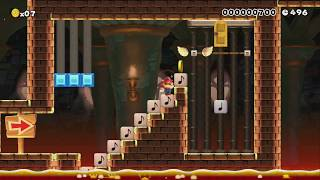 New Art of Opening Doors 1.1 by Miguel - SUPER MARIO MAKER - NO COMMENTARY