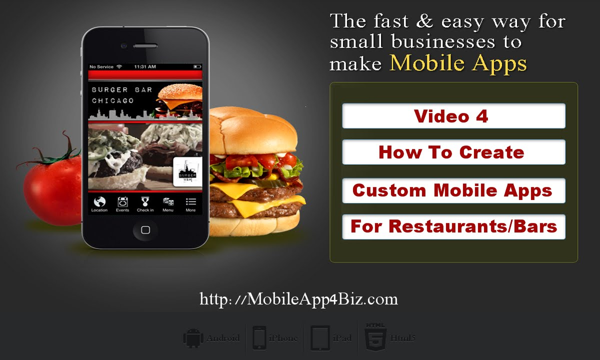 How To Create The Best Mobile Apps For Restaurants For Free Video 4 Youtube