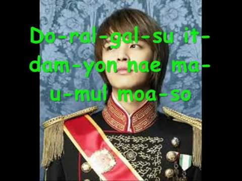 Parrot-kim Jeong Hoon Ost Princess Hours video