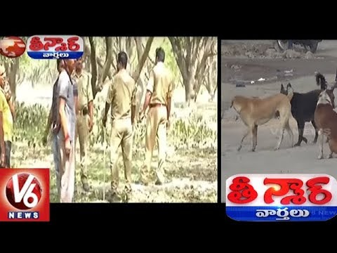 Uttar Pradesh Police Uses Drones To Track Wild Dogs | Teenmaar New