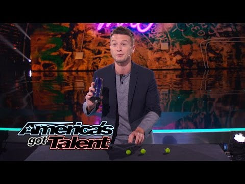 Mat Franco: Magician Tells Story With a Hidden Ball Trick - America's Got Talent 2014 Finale