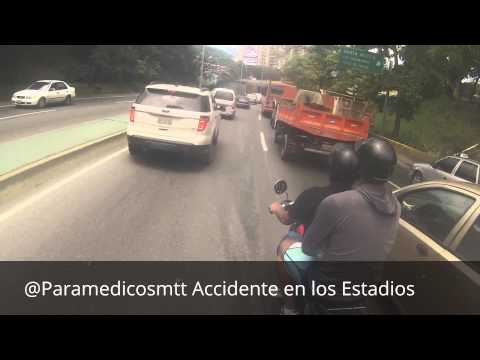 Paramedicos Motorizados / Accidente en los estadios