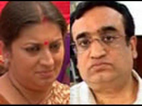BJP defends Smriti Irani, hits back at Ajay Maken