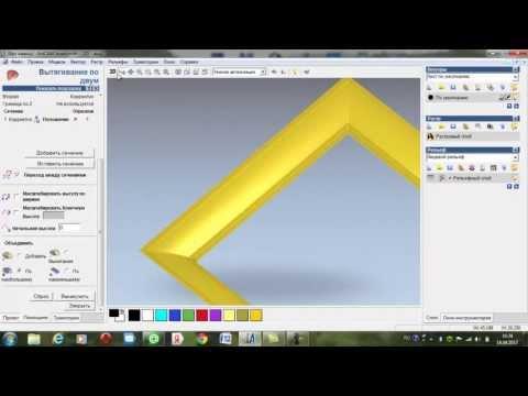 учимся создавать простую рамку в artcam