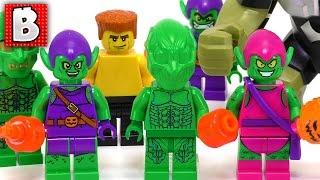 Every LEGO Green Goblin Minifigure Ever Made!!! + Rare 2002 Green Goblins