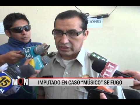 "26/03/15 12:52 IMPUTADO EN CASO ""MÚSICO"" SE FUGÓ"