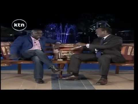 Jeff Koinange Live [Part 1] with Daniel Ndambuki (Churchill) talking about the journey to comedy