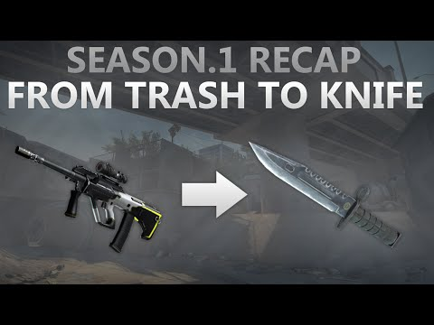 Cs:go - From Trash To Knife! Season.1 Recap! video