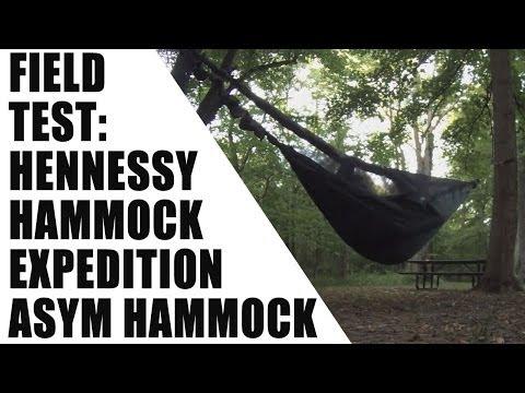 Hennessy hammock test
