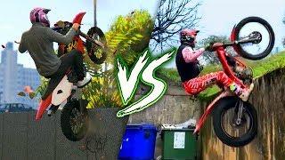 GTA 5 VS REAL LIFE 14 ! (fun, fail, stunt, ...)