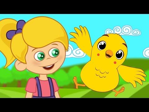 Çocuk Şarkıları - Küçük Civciv | Sevimli Dostlar Çizgi Film Çocuk Şarkıları 2016 | Yaygara TV Bebek