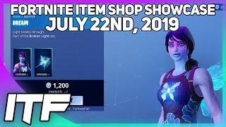 Fortnite Item Shop DREAM IS BACK! [July 22nd, 2019] (Fortnite Battle Royale)