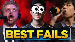 The BEST Fails and FUNNIEST Moments of The International 2018 (Dota 2)