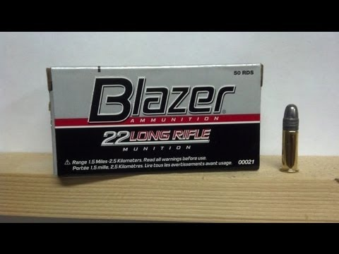 BLAZER .22LR AMMO TEST/REVIEW