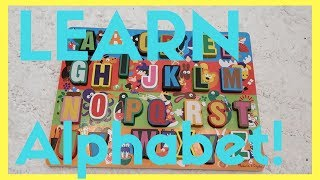 Learn alphabet letters with fun shapes, colors and animals!