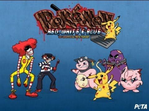 PETA is at it Again. Pokemon X & Y