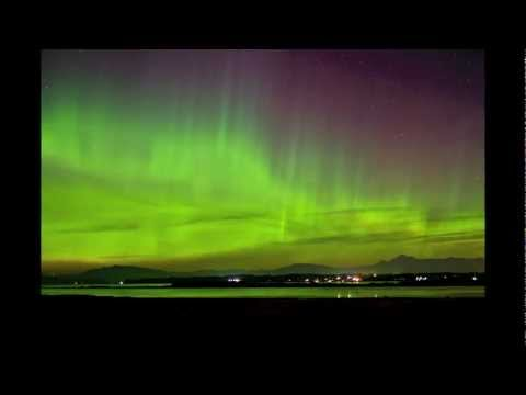 Northern Lights in Anacortes WA