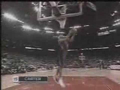 NBA Slam Dunk Contest 2000 - Vince Carter - Part 1