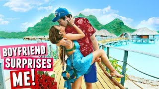 Boyfriend SURPRISES Me In Bora Bora!🌴🌞🌊 I seriously couldn't believe his makeup skills.