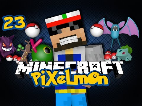 Minecraft Pixelmon 23 - MY SECOND LEGENDARY (Pokémon in Minecraft)