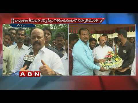 Konda Murali challenges Minister KTR | Face To Face with ABN
