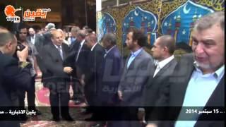 يقين | اللواء عادل لبيب وزير التنمية المحلية في عزاء الكاتب الراحل أحمد رجب