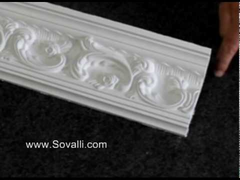 HPCV001 Sovalli Decorative Plaster Coving