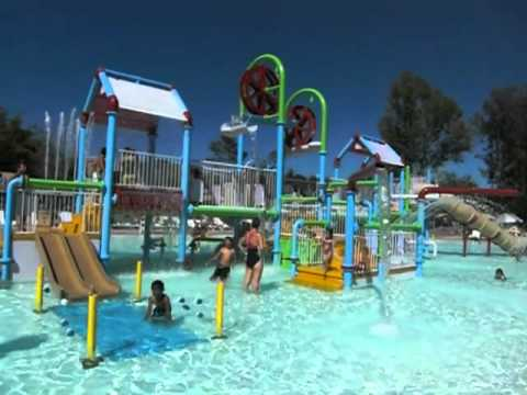 Water Playground At Casitas Water Adventure Youtube