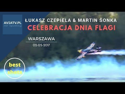 Święto Flagi 2017 - Przelot Pod Mostami W Warszawie - Red Bull
