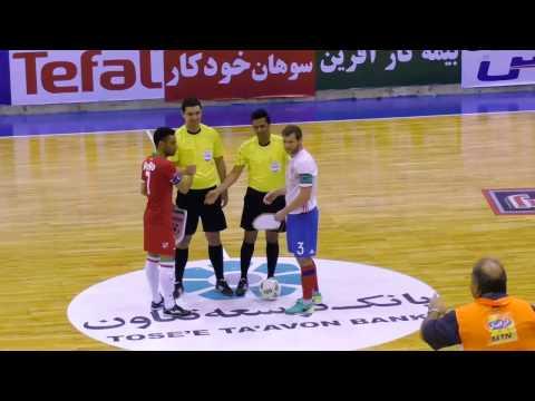 Товарищеские матчи. 1 игра. Иран - Россия. 6:4