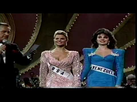 miss universe 1986 crowning youtube