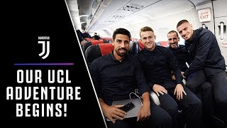 OUR CHAMPIONS LEAGUE ADVENTURE BEGINS! | THE EVE OF ATLETICO-JUVENTUS