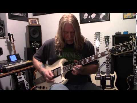 Ted Nugent Stranglehold Guitar Cover