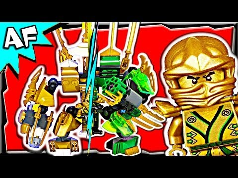 LLOYD vs KAI - Lego Ninjago MECH BATTLE #3