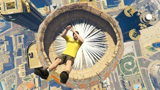 GTA 5 CRAZY Jumps/Falls Compilation #22 (GTA 5 Fails Funny Moments)